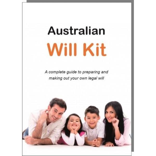 The Australian Will Kit - Family Pack - $12.45 pp
